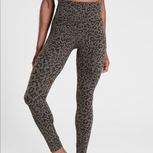Athleta Leopard Elation Ultra High Rise Tight